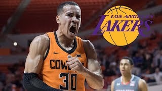 Lakers Sign Undrafted Oklahoma State Product Jeffrey Carroll