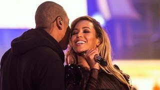 Beyonce and Jay Z Show Wedding Video at On The Run Tour