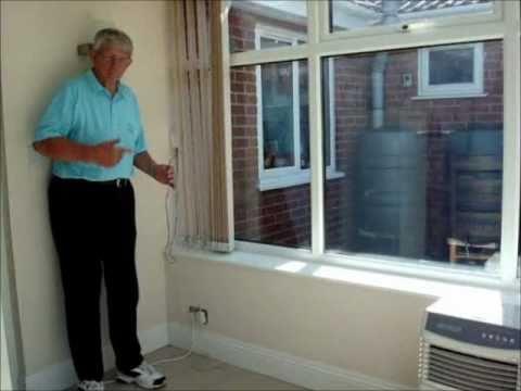 Motorized Window Blinds Controller With Sunlight Sensor