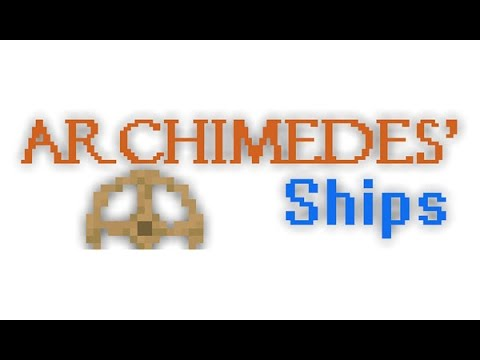 Minecraft: Mod Review: Archimedes Ships Mod 1.7.10 I Crea Naves I
