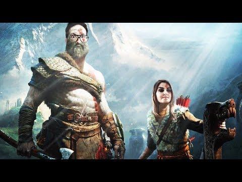 GOD OF WAR (sans Spoiler) le test en Let's Play I PS4 Pro thumbnail