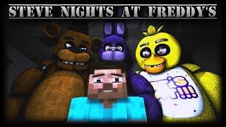 SFM| Steve Nights at Freddy's| HD