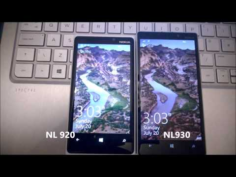 Sometimes the Nokia Lumia 930 feels slower than the Nokia Lumia 920