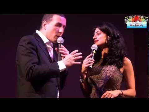 Cristina Del Basso Intervista con Alessandro Greco : Dubai Palace Roma – Video