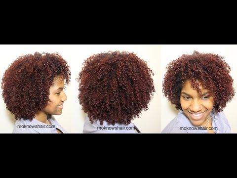 Wash-N-Go on Type 3C Hair