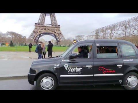 Sherbet London Taxis in Paris