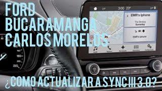 Parte 1 de 2 ¿Como Actualizo mi Sync 3 de mi carro FORD?