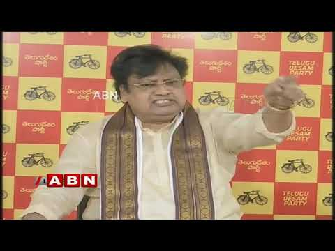 TDP leaders lashes out BJP over IT Raids | ABN Telugu