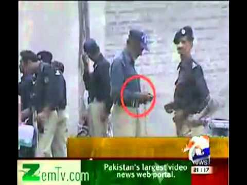 geo sargodha police enjoy protest
