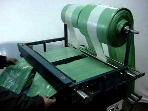 Maquina para fabricação de sacolas e sacos plásticos - Dera Máquinas