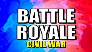 Civil War Battle Royale! | Hearts of Iron 4 (HOI4)