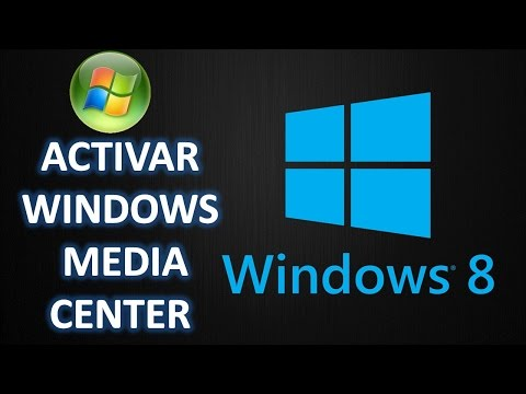 Como Activar Windows Media Center en Windows 8