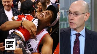 The NBA is 'thrilled' to have the Raptors in the Finals – Adam Silver | Get Up!