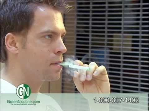 green nicotine electronic cigarette review.