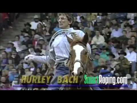 In 1993, after going out of the average, Bobby Hurley and Allen Bach win five rounds in a row(6th-10th) to make Bobby the World Champ at the NFR in Las Vegas...