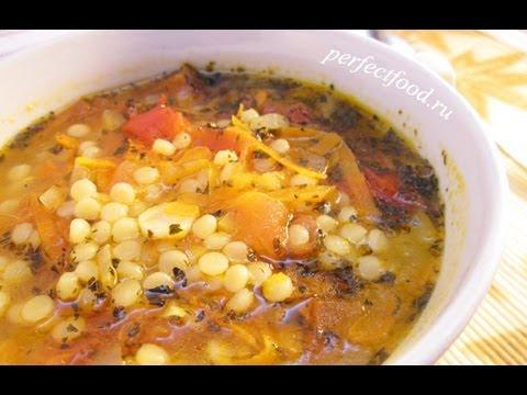Кускус - как приготовить томатный суп с кускусом