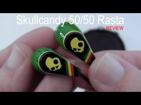Skullcandy 50/50 Rasta Earphones Review