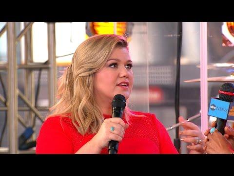 Kelly Clarkson Describes Her Journey to Stardom