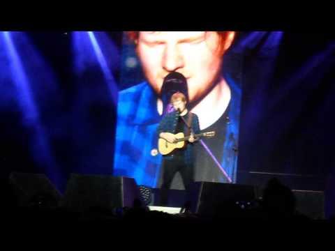 Ed Sheeran - Runaway - Birmingham 18.10.14 #1