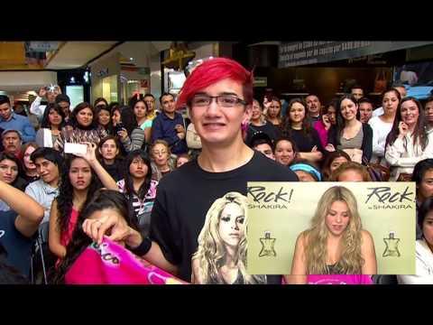 Shakira y #RockByShakira - Conexión via satélite con México