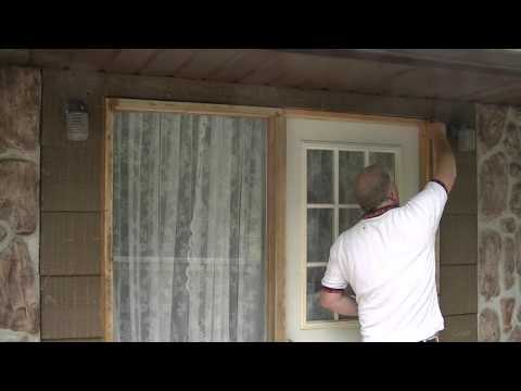 Correctly flashing and caulking an exterior door how to save money and do it yourself for Best exterior caulk for windows
