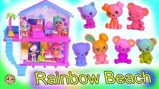Rainbow Beach House ! Happy Places Shopkins Shoppies Summer Home