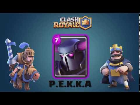 Clash Royale  P E K K A SOUND  Sound effect