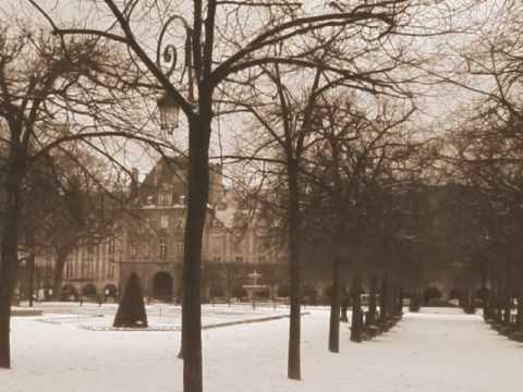 寒の戻りの雪景色