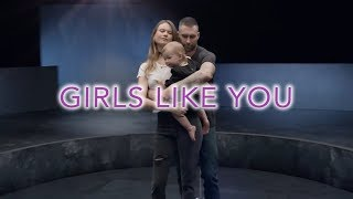 maroon 5   GIRLS LIKE YOU Adam Levine Story With Wife  With Liryc