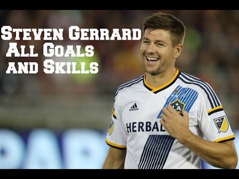 Steven Gerrard La Galaxy all goals and skills