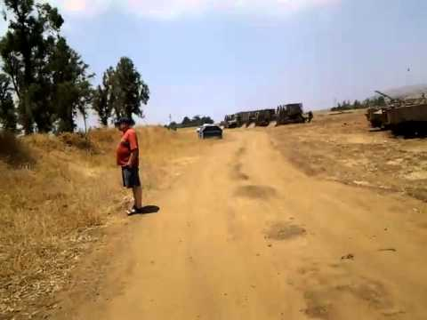 Israel Tanks are Coming