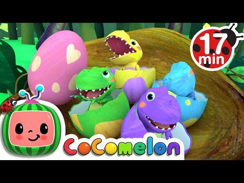 Dinosaur Songs | Kids Songs Compilation - ABCkidTV