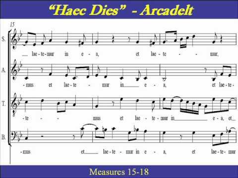 Jacques Arcadelt - Haec dies