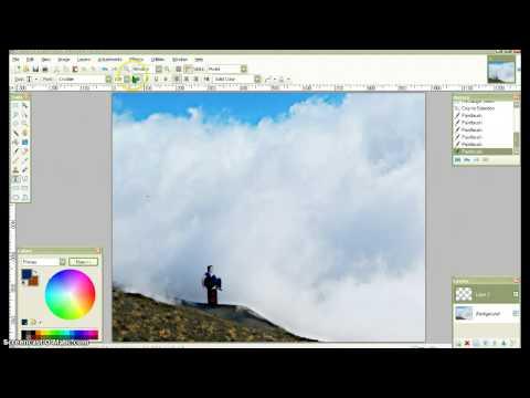 Como Crear Un Fotomontaje Con Paint.net - Gratis, Fácil Y Rapido.