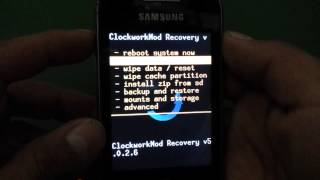 ROOT SAMSUNG GALAXY YOUNG + CLOCKWORKMOD
