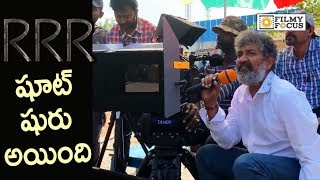 RRR Movie Making Video || RRR Movie First Shot || Rajamouli, Ram Charan, NTR