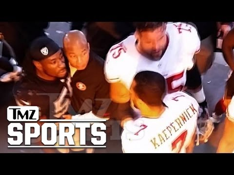 Colin Kaepernick -- Halftime Showdown with Raiders LB ... 'I'm Coming for You'