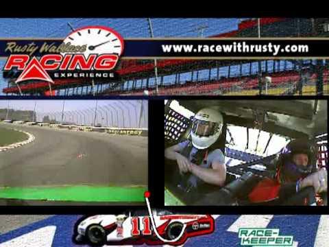 Rusty Wallace Race Experience NASCAR crash