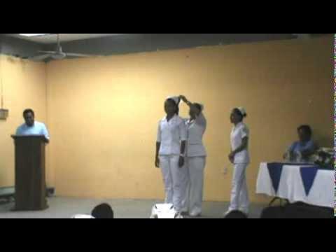Imposición de Cofia Enfermeria 2013 USM