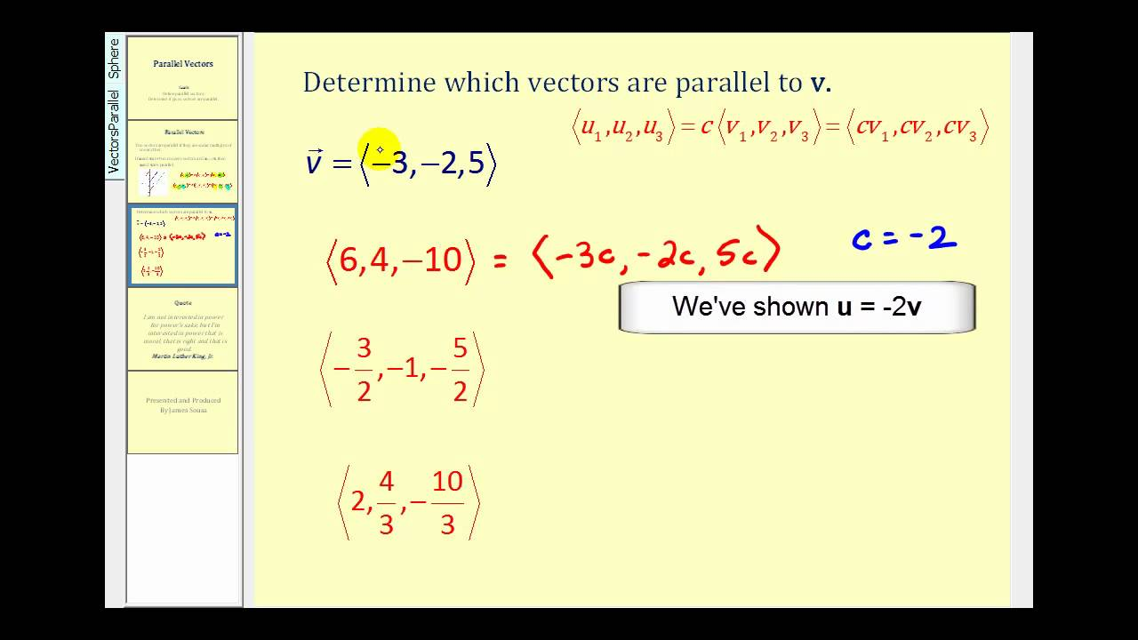 Expressing a projection on to a line as a matrix vector