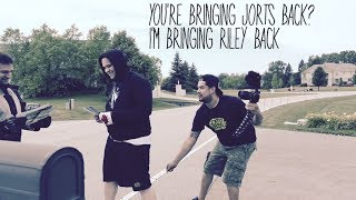 You're bringing jorts back? I'm bringing Riley back