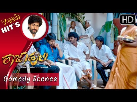 Chikkanna Kannada Comedy Scenes Rajahuli Kannada Movie  | Yash Movies