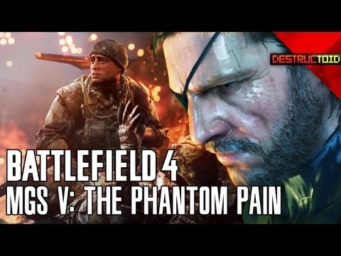 Phantom Pain + Ground Zeroes = MGS V! Battlefield 4 FIRST GAMEPLAY, Destiny's GIANT FROGS, & More!