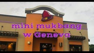 mini mukbang w Geneva