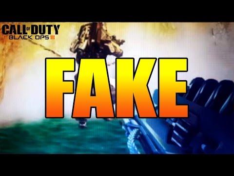 """BLACK OPS DLC """"LASER WEAPON"""" IS FAKE! (Debunking the Black Ops 3 Laser Weapon Leak)"""
