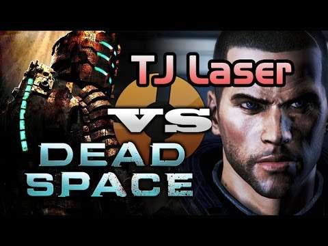 SPACE RAGE: TJ Laser vs Dead Space! (#1)