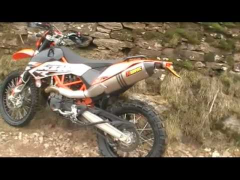 KTM 690 Enduro R + Akrapovic Vol 1 Video