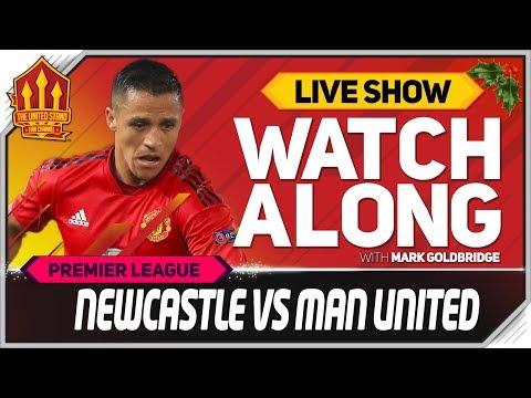 Newcastle United vs Manchester United  Watchalong
