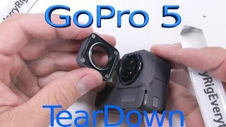 GoPro 5 Teardown - How to Repair a Hero 5 Screen, Lens, and Battery video