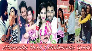 Musically Real Relationship Goals Part 1| Musically India Compilation.